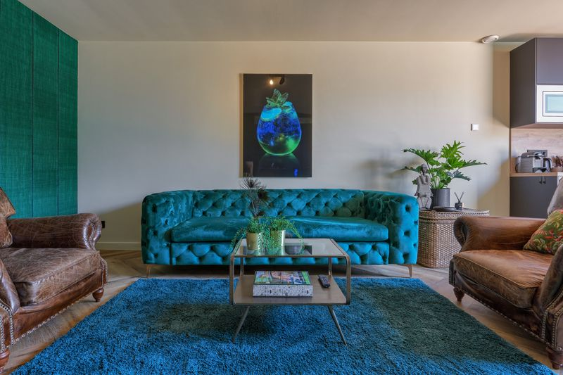 Mint - living room couch